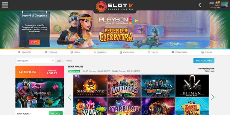 официальный сайт slot v casino отзывы