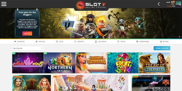 казино slot v официальный вход