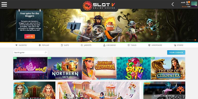 обзор slotv